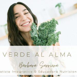 nutrición holísitca Bàrbara Sarriera Dietista Integrativa y Educadora Nutricional