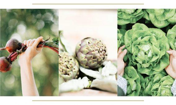 alimentos de temporada y proximidad