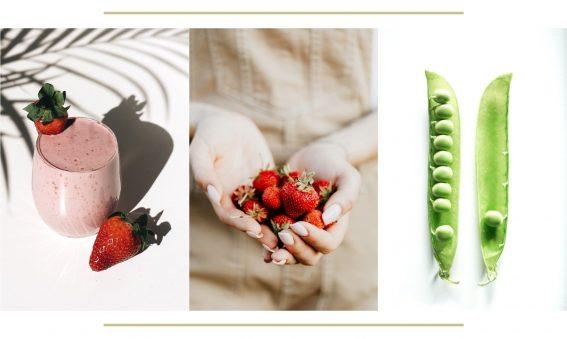 las frutas y verdura de temporada del mes de abril
